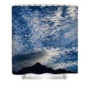 Himalayan Skies Shower Curtain