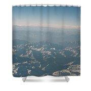 Himalayas 2 Shower Curtain