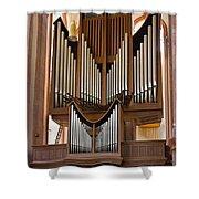 Himmerod Abbey Organ Shower Curtain