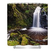 Hindhope Waterfall Shower Curtain