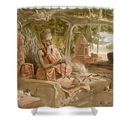 Hindu Fakir, From India Ancient Shower Curtain