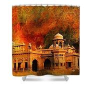 Hindu Gymkhana Shower Curtain by Catf
