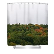 Hints Of Autumn Shower Curtain