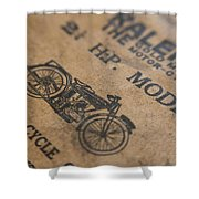 Hints On A Raleigh Shower Curtain