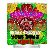 Hippie Art Shower Curtain