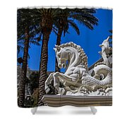 Hippocampus At Caesars Palace Shower Curtain