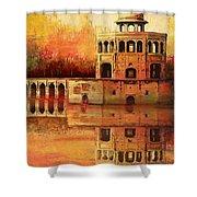 Hiran Minar Shower Curtain