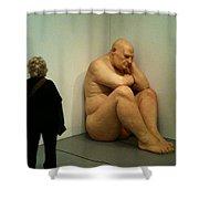 Hirshhorn Museum Sculpture Shower Curtain