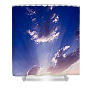 His Glory 2 Shower Curtain