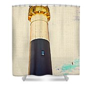 Historic Absecon Lighthouse Shower Curtain