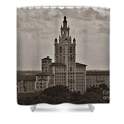 Historic Biltmore Hotel Shower Curtain