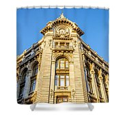 Historic Building Facade Shower Curtain
