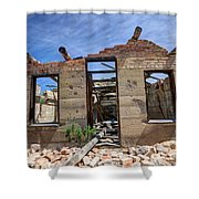 Historic Building Nine Mile Canyon - Utah Shower Curtain