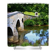 Historic Burnside Bridge Shower Curtain