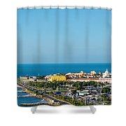 Historic Cartagena And Sea Shower Curtain