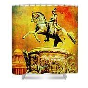 Historic Centre Of Saint Petersburg And Related Groups Of Monuments Shower Curtain