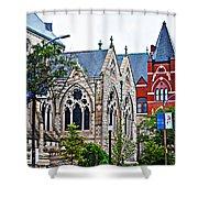 Historic Churches St. Louis Mo 1 Shower Curtain