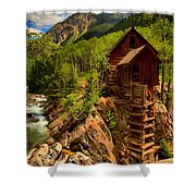 Historic Colorado Shower Curtain