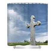 Historic Cross Shower Curtain