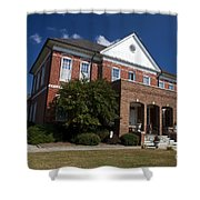 Historic Currituck Courthouse Shower Curtain