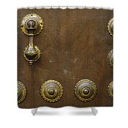 Historic Door In Granada Shower Curtain
