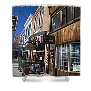 Historic Downtown Truckee California Shower Curtain