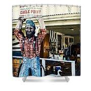 Historic Eagle Point Shower Curtain