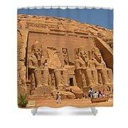 Historic Egypt Shower Curtain