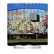 Historic Faces Of Ybor City Shower Curtain