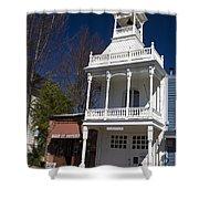 Historic Firehouse No. 1 Nevada City California Shower Curtain