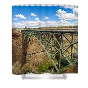 Historic Highway Bridge Shower Curtain
