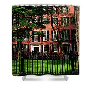 Historic Homes Of Beacon Hill, Boston Shower Curtain