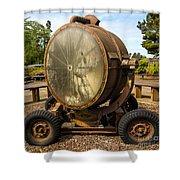 Historic Military Spotlight - Fort Stevens - Oregon Shower Curtain