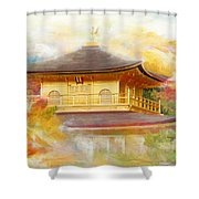 Historic Monuments Of Ancient Kyoto  Uji And Otsu Cities Shower Curtain