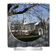 Historic Nantucket Church Shower Curtain