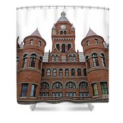 Historic Old Red Courthouse Dallas #1 Shower Curtain