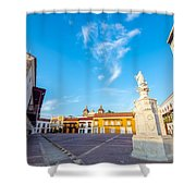 Historic Plaza In Cartagena Colombia Shower Curtain