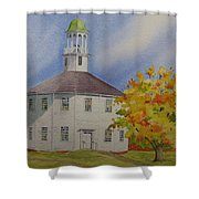 Historic Richmond Round Church Shower Curtain
