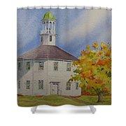 Historic Richmond Round Church Shower Curtain