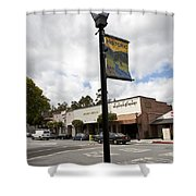 Historic Saratoga Village Shower Curtain