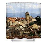 Historic Segovia Shower Curtain