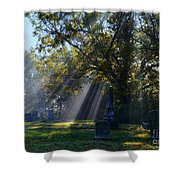 Historic Sibley Cemetery At Fort Osage Missouri Shower Curtain