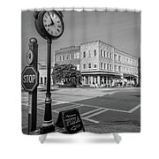 Historic Small Town In South Where Shower Curtain