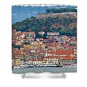 Historic Town Of Sibenik Panorama Shower Curtain