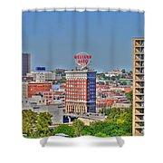 Historic Western Auto Building Kansas City  Missouri Shower Curtain