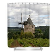 Historic Windmill Shower Curtain