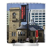 Historic Wing Of The San Jose Art Museum Shower Curtain