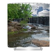 Historic Yates Mill Dam - Raleigh N C Shower Curtain