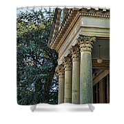 Historical Athens Alabama Courthouse Shower Curtain