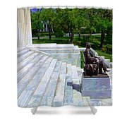 Historical Museum Building Of Buffalo Shower Curtain